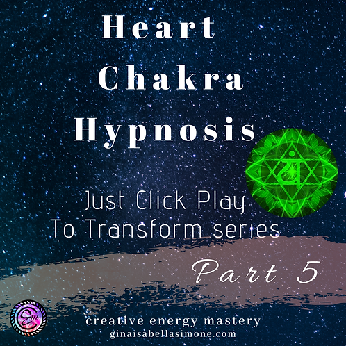 Heart Chakra Healing Hypnosis Audio