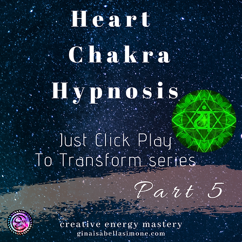 Hypnosis for Emotional balance and trauma. Hypnosis for depression and heart chakra healing