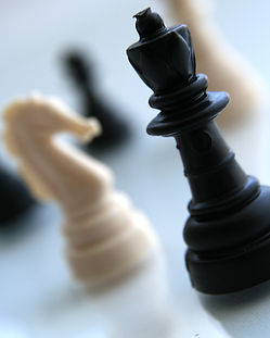 Chess Pieces Gros plan