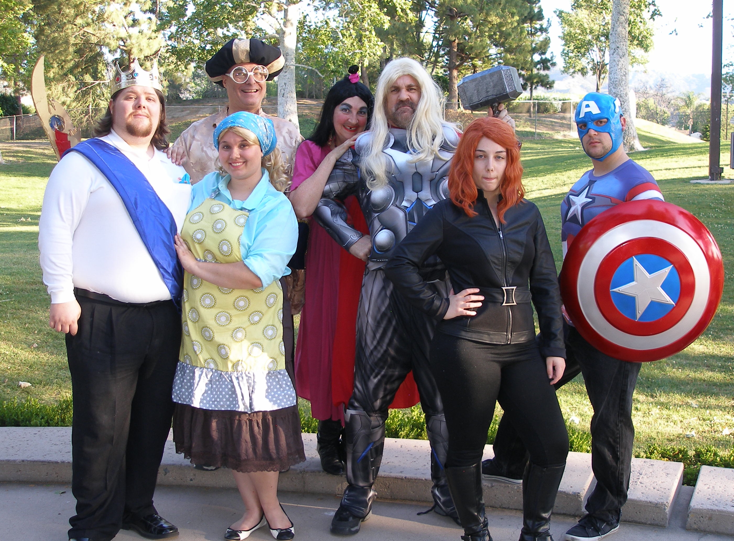 Cinderella Meets the Avengers 2016