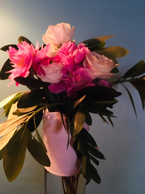 Floral arrangement (pictured is a sample of one we did in the summer)