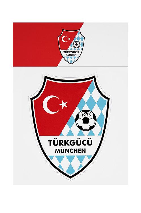 Aufkleber Türkgücü Logo