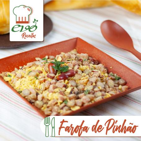 Receitas Evo: Farofa de Pinhão