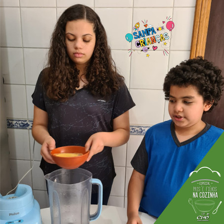 Pais e Filhos na Cozinha: Mousse de Maracujá
