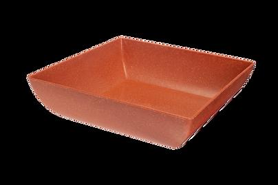 saladeira quadrada terracota