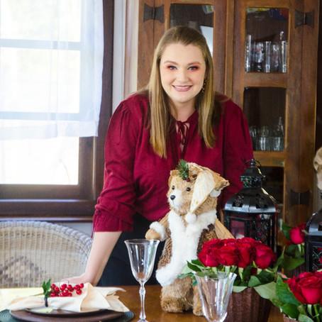 5 passos para montar a mesa posta Natalina