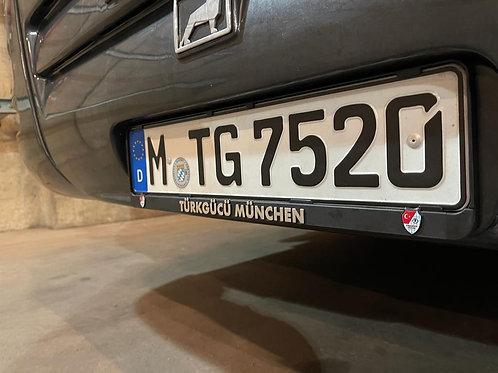 Kennzeichenhalter Türkgücü München