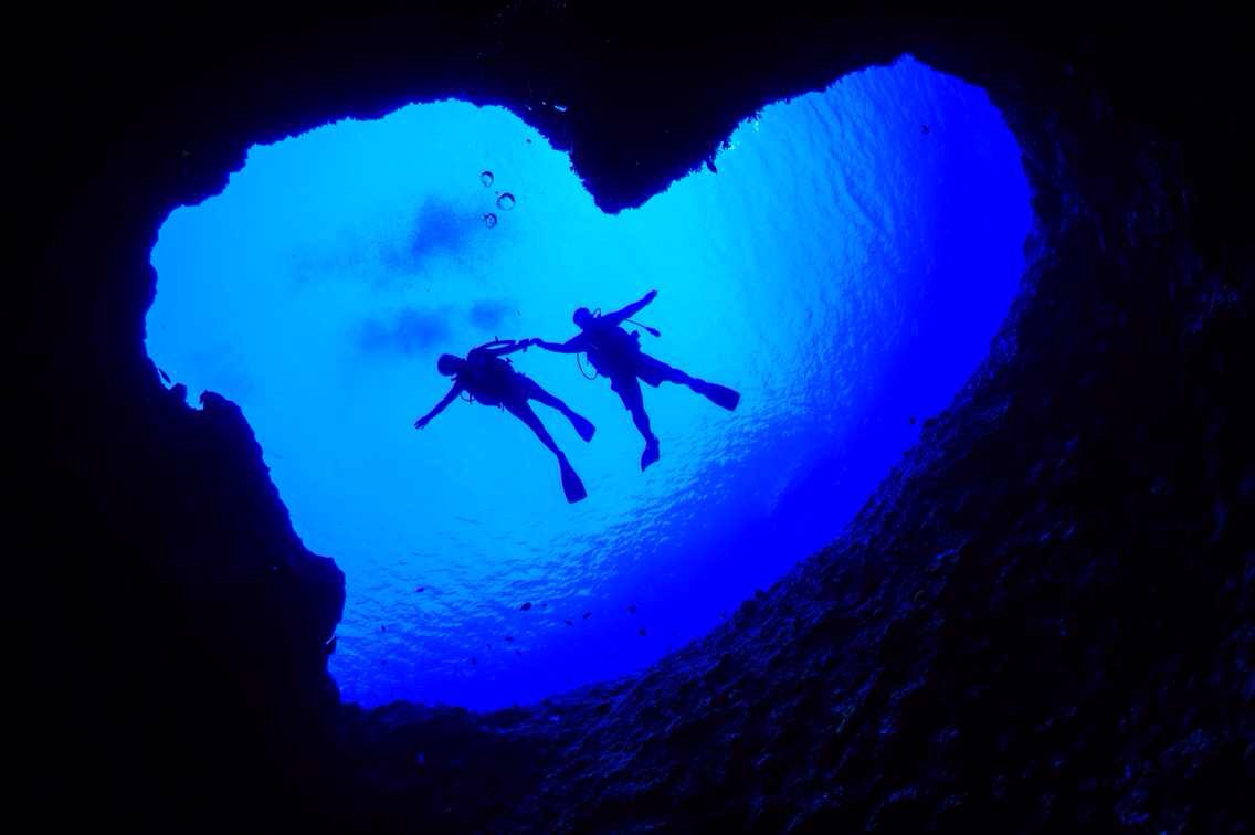 Guam Blue Hole