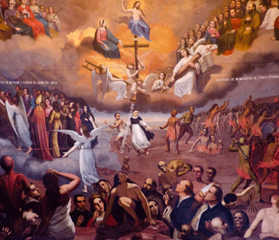 Art in Church in Quito