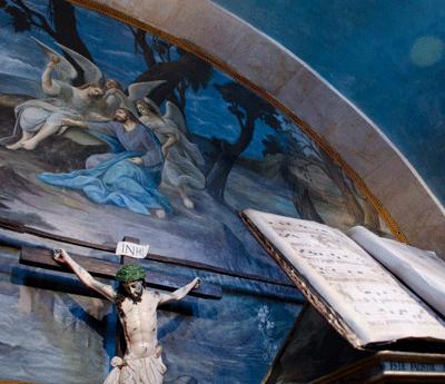 Cruz en el Museo del Carmen Alto