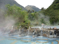 Thermal Hot Springs Ecuador Tour