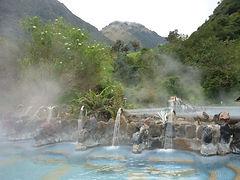 Thermal Hot Springs Ecuador Tour
