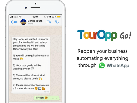 4 Ways Automated Messages Can Help You With The Re-Opening of Your Tour Company
