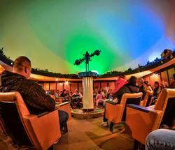Planetarium at the Mitad del Mundo