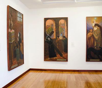 Galería en el Museo del Carmen Alto