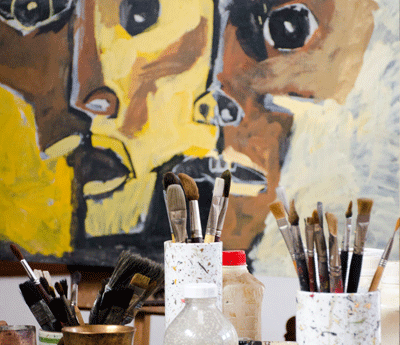 Guayasamin's Art Studio in Quito