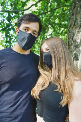 Black Silk Masken