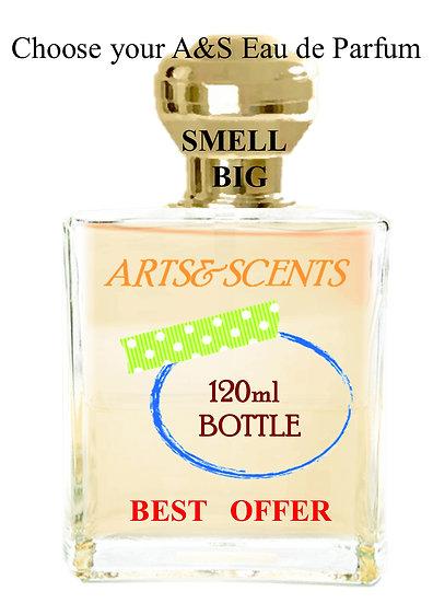 Your BIG Bottle Eau De Parfum - 120 ml