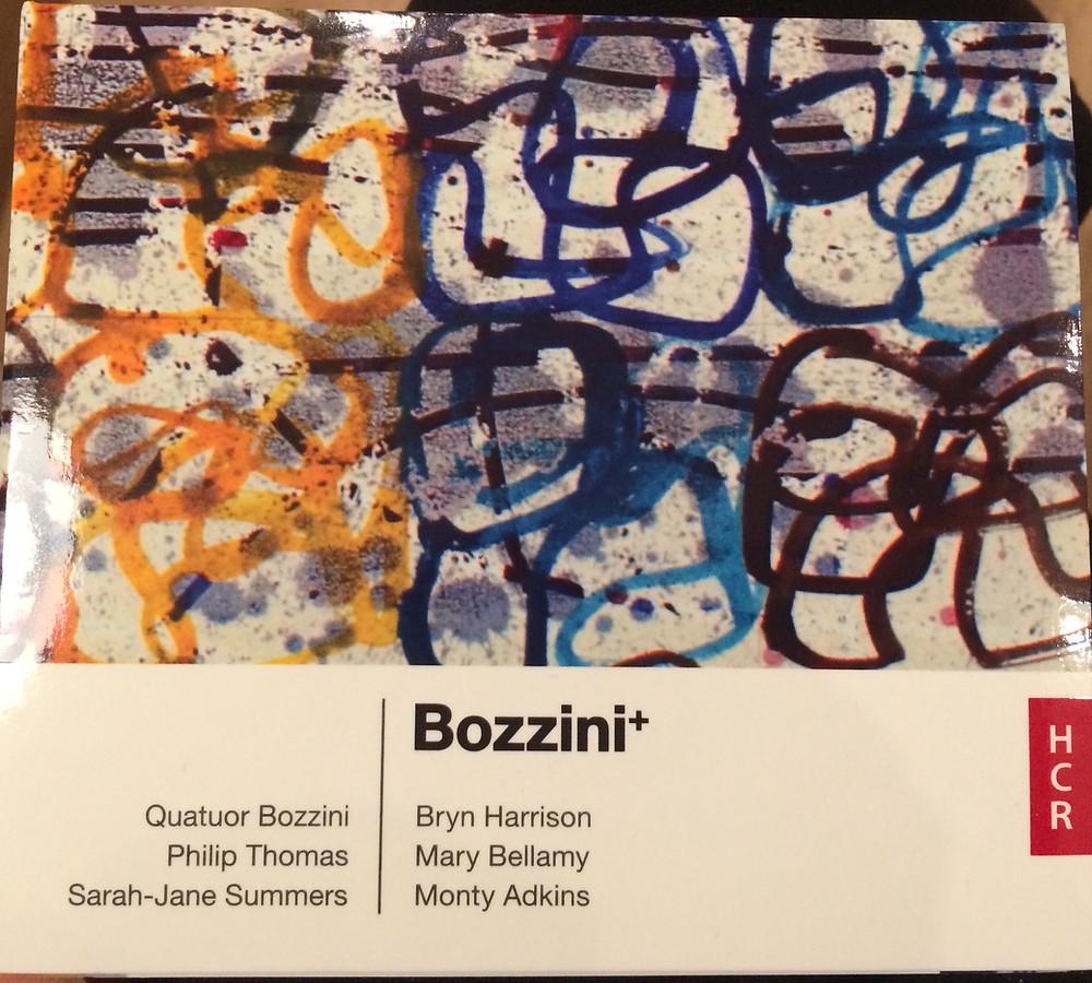 Quatuor Bozzini, Philip Thomas, Sarah-Jane Summers, Monty Adkins CD, HCR19CD