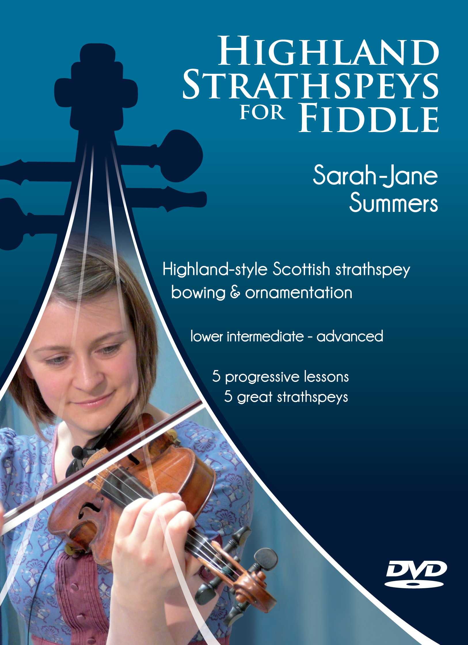 Highland Strathspeys for Fiddle DVD