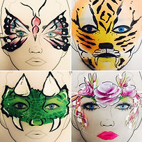Face painting ideas for childrens parties