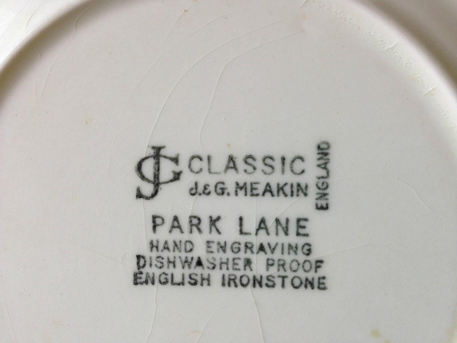 Park Lane Plate Backstamp
