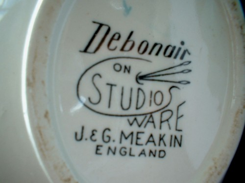Debonair Teapot Backstamp