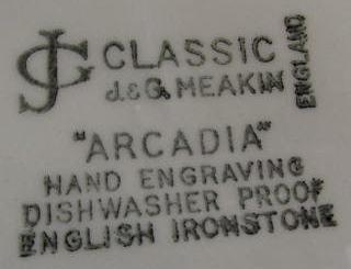 Arcadia Backstamp
