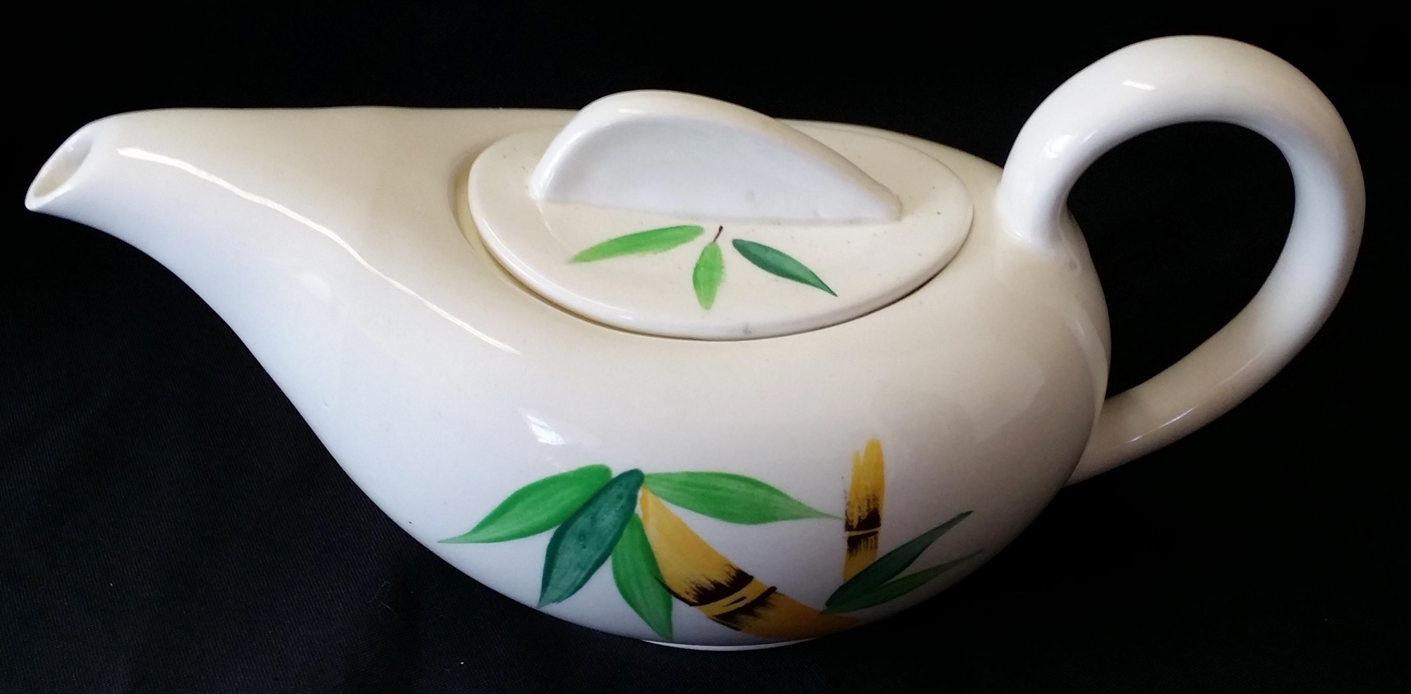 Plantation Teapot Back