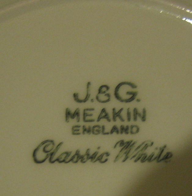 Melbourne Plates Backstamp