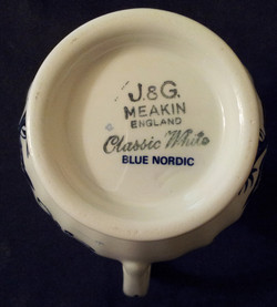 Blue Nordic Jug Backstamp