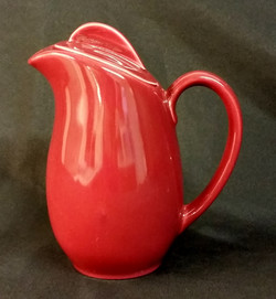 Holiday Red Coffee Pot