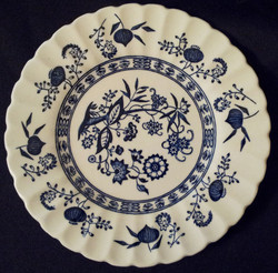 Blue Nordic Plate