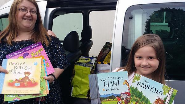 Book Donation - Bloxwich Phoenix Rotary