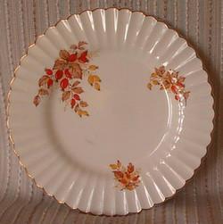 Autumn Rosehip Plate