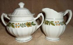 Colonial Milk Jug & Sugar Bowl