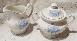 Somethin Blue Milk Jug & Sugar Bowl
