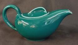 Holiday Green Tea Pot Back