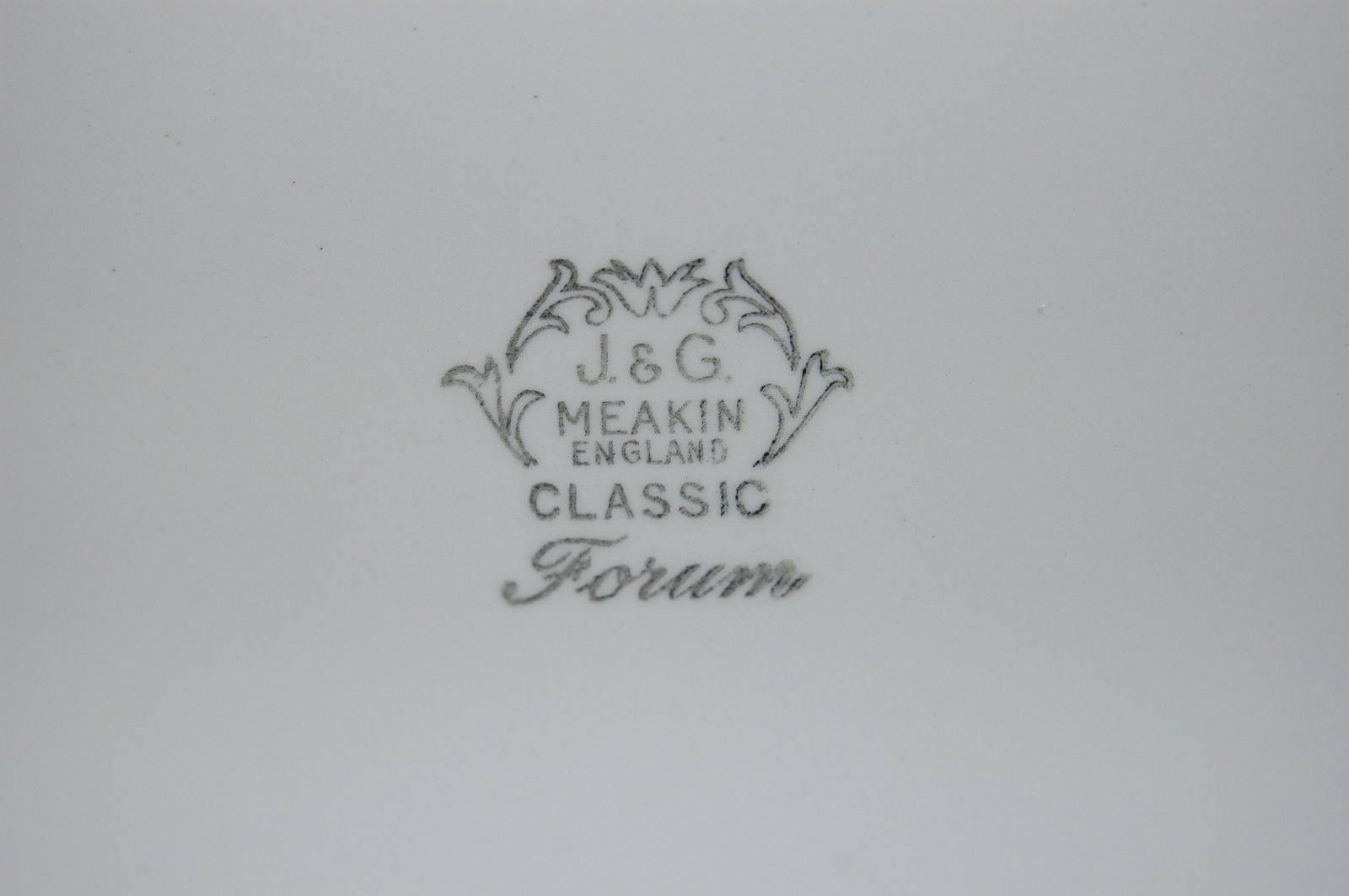 Forum Grey Platter Backstamp