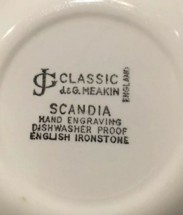 Scandia Backstamp