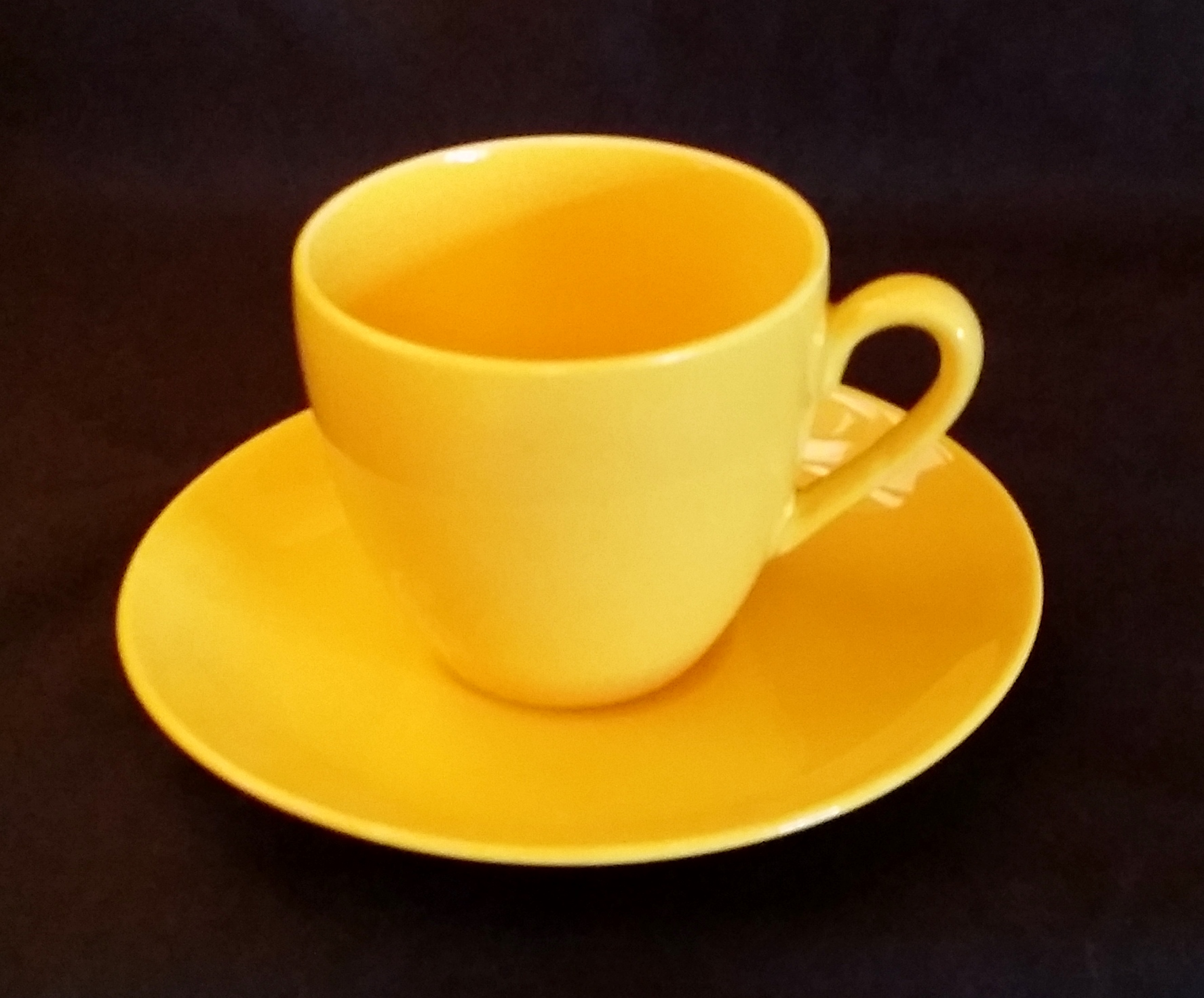 Harlequin Yellow Cup