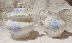 Somethin Blue Milk Jug & Sugar Bowl Back