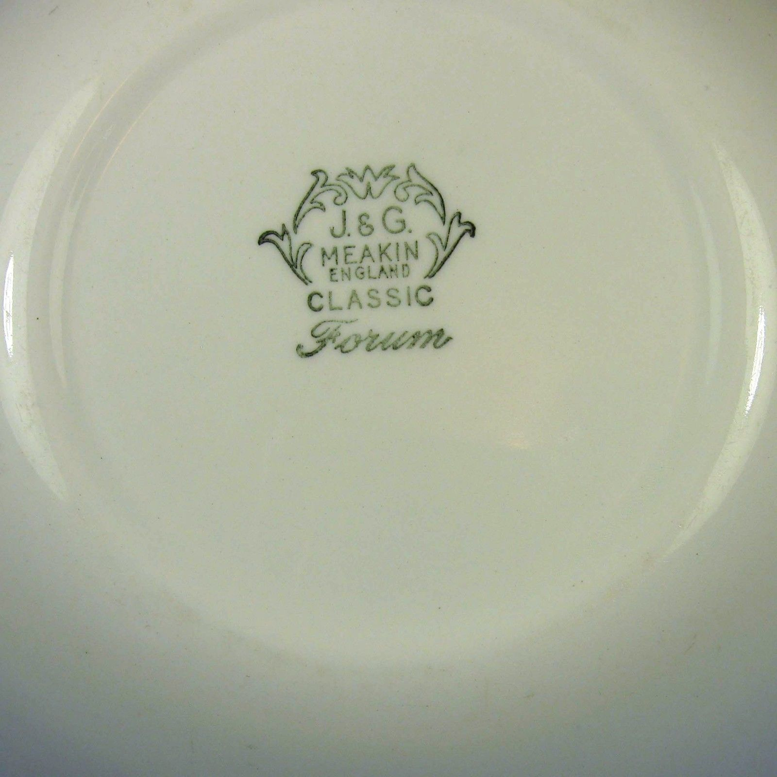 Forum Green Bowl Backstamp