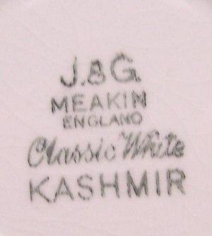 Kashmir Cup & Saucer Backstamp