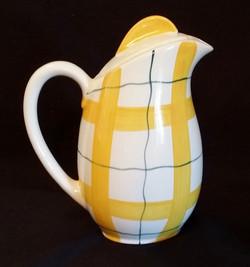 Habitant Yellow Coffee Pot Back