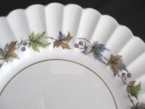 Woodland Plate Detail