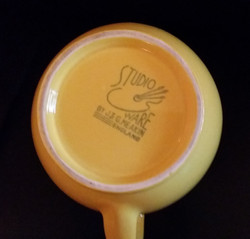 Holiday Yellow Jug Backstamp