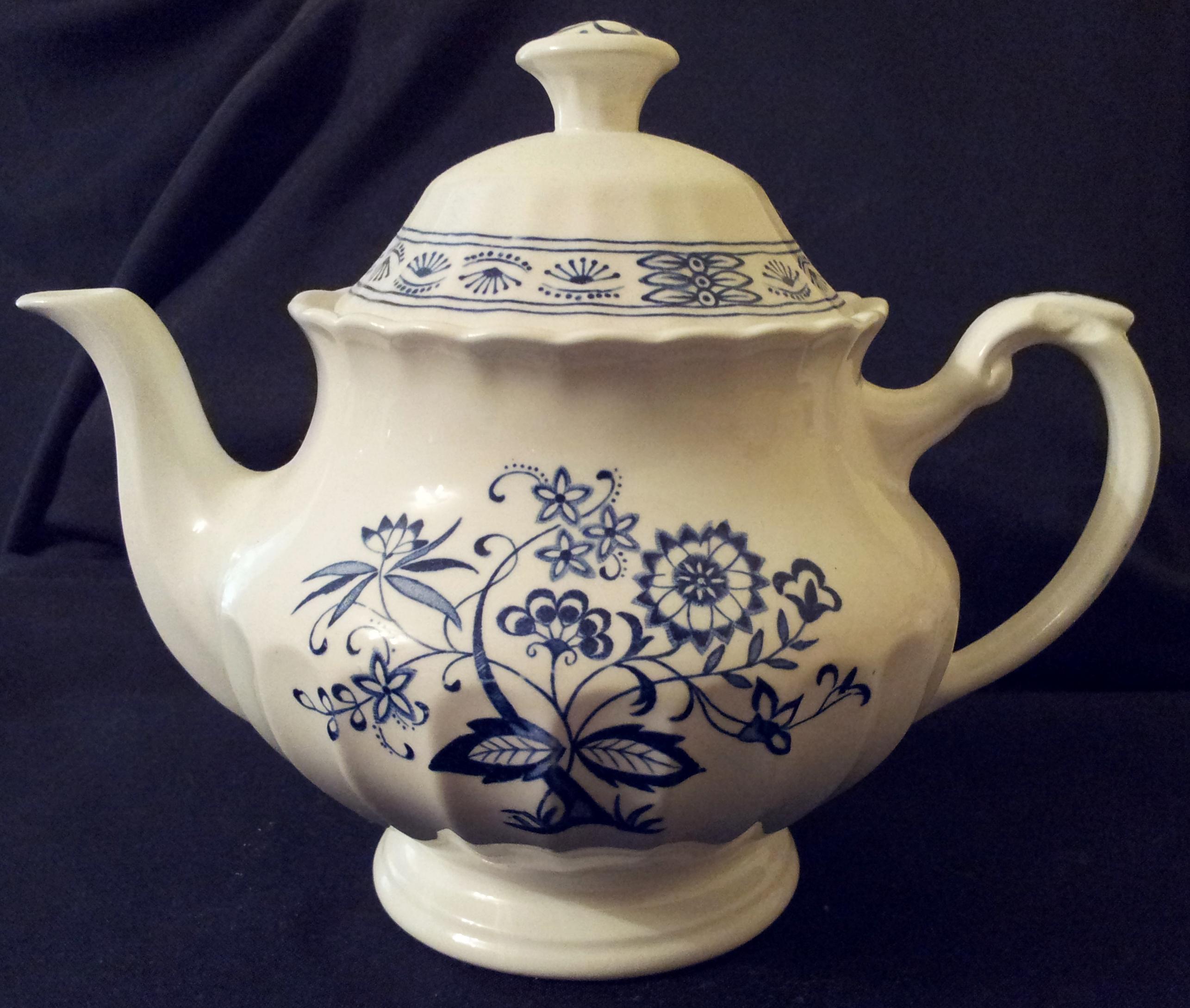 Blue Nordic Teapot