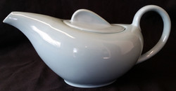 Holiday Light Blue Tea Pot Back