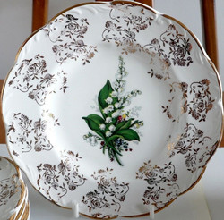 Lilly of the Valley Plate Front